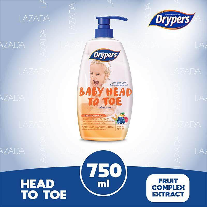 Drypers Baby Head To Toe - Fruit Complex 750ml By Lazada Retail Drypers.