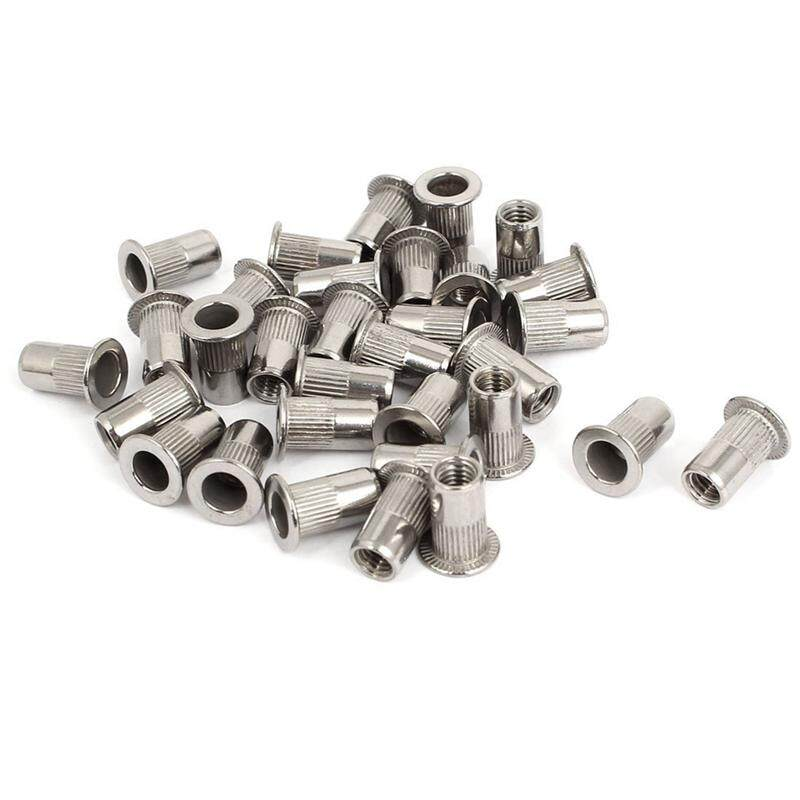 M5 Thread 304 Stainless Steel Rivet Nut Insert Nutsert 30pcs