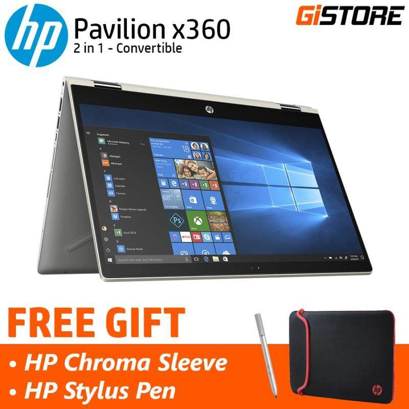 HP Pavilion x360 14-cd0033TX 14 (i7-8550U, 4GB, 1TB + 8GB, NV MX130) Hybrid Laptop/ Notebook Malaysia