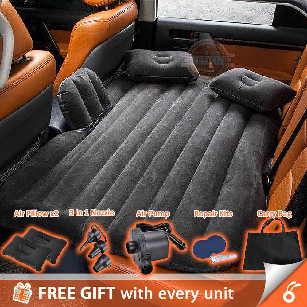 710003 Inflatable Car Bed Back Seat Outdoor Travel Camping With