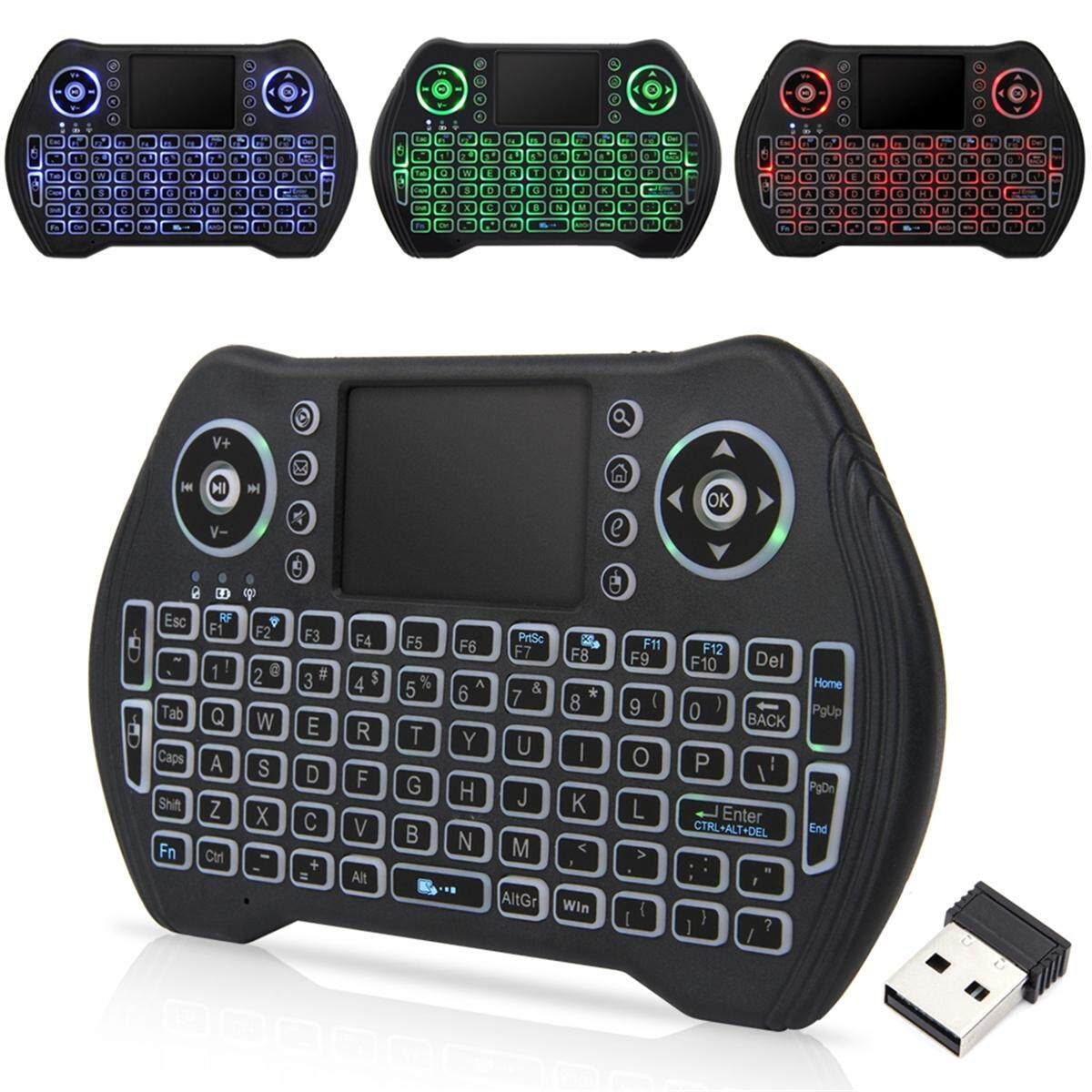 Hand-Hold Wireless Bluetooth Backlight Keyboard For Tablet By Nimbler.