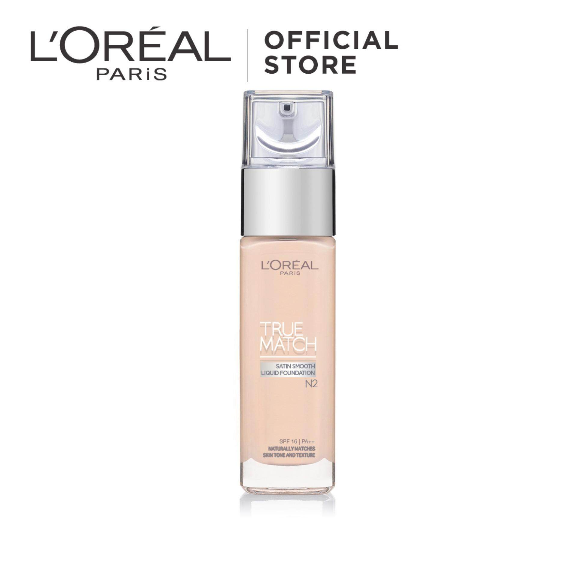 L Oreal Paris True Match Liquid Foundation SPF16