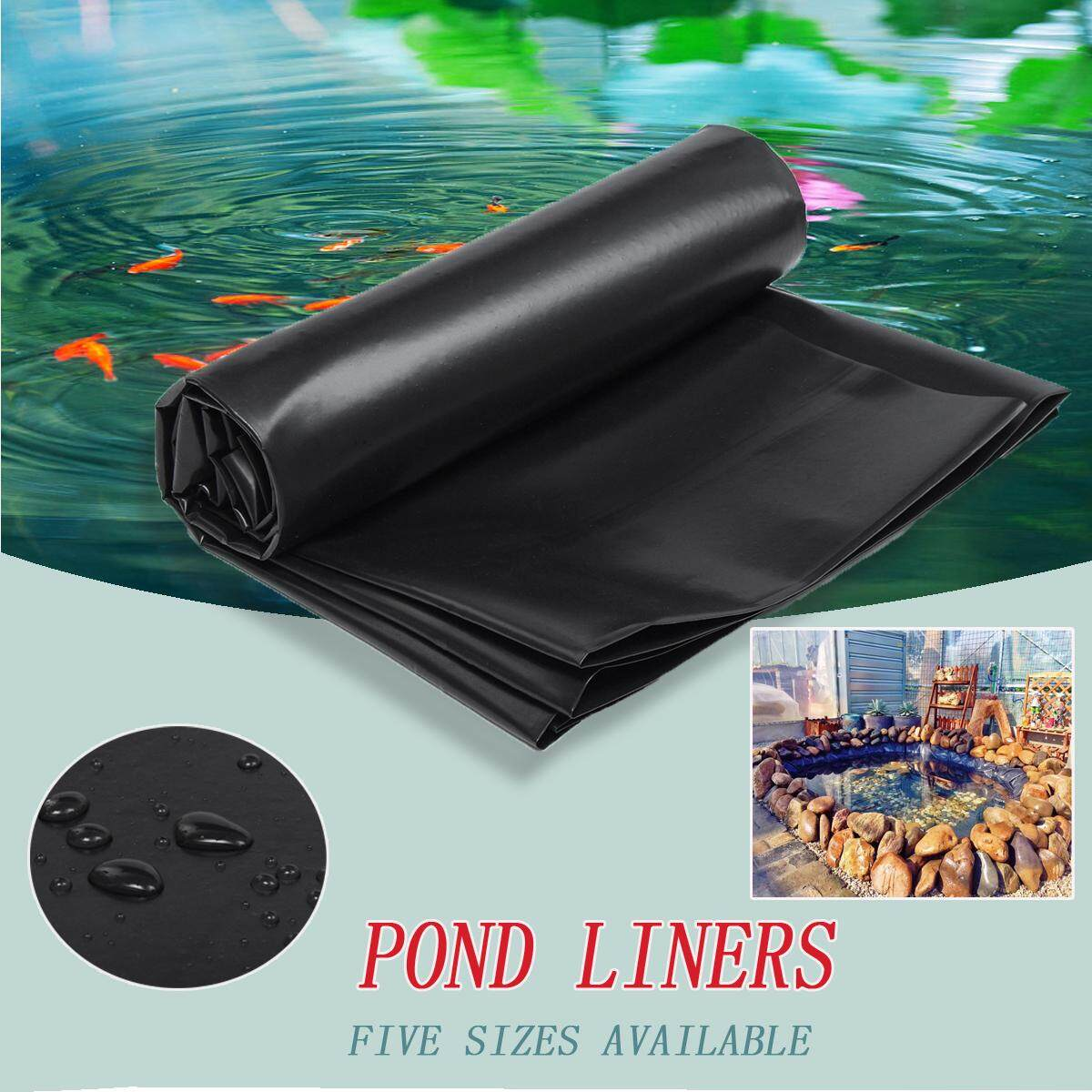 Fish Pond Liner Gardens Pools HDPE Membrane Reinforced Landscaping 0.3MM 3.5X5M