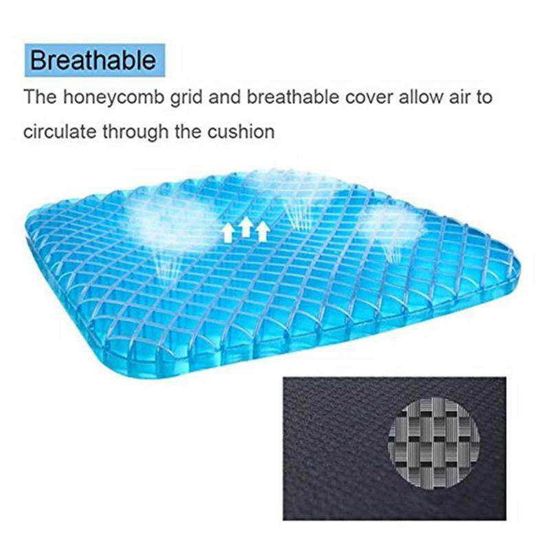 GoodGreat Gel Flex Seat Cushion Breathable Absorbs Pressure Points Support Cushion Good Sitting Posture