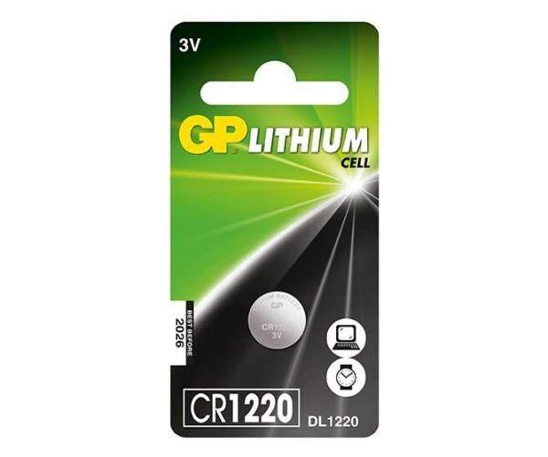 CR1220 GENUINE GP Lithium Battery 3V (CR1220-7C1) Malaysia