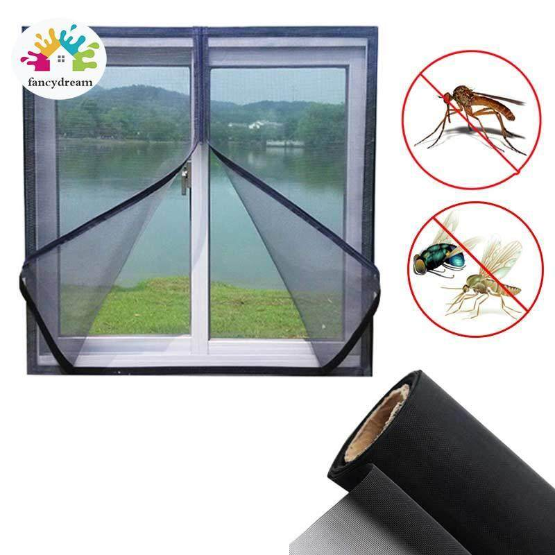 fancydream 200x150cm/150x130cm DIY Flyscreen Curtain Insect Fly Mosquito Bug Window Mesh Screen