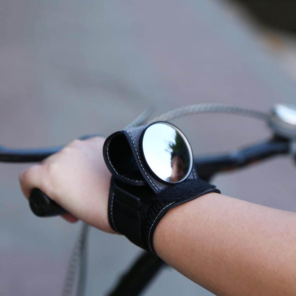 Cycling Wrist Band Strap Bike Rear View Reflex Mirrors Cycling Accessories By Highfly365.