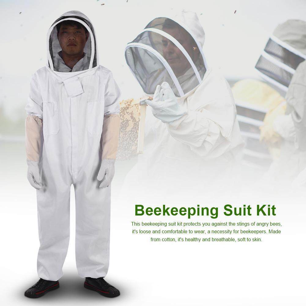 Professional Beekeeping Protective Suit Gloves Beekeeper Protect Equipment Jumpsuit