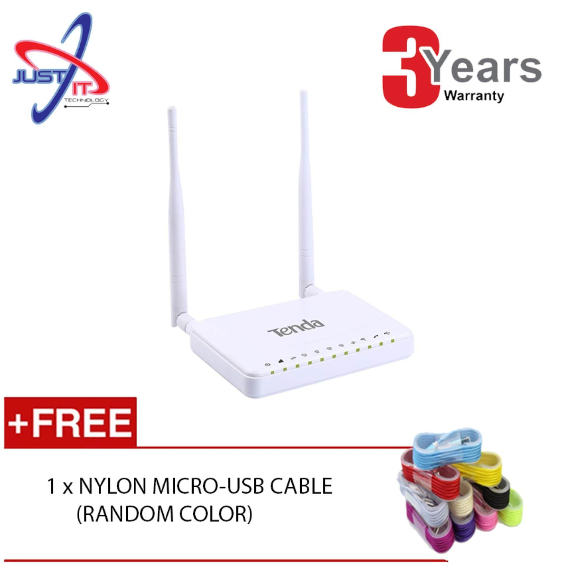 Tenda Routers Price In Malaysia Best Lazada N301 Wireless Router 3 1 4g680 N300 4g Lte And Volte