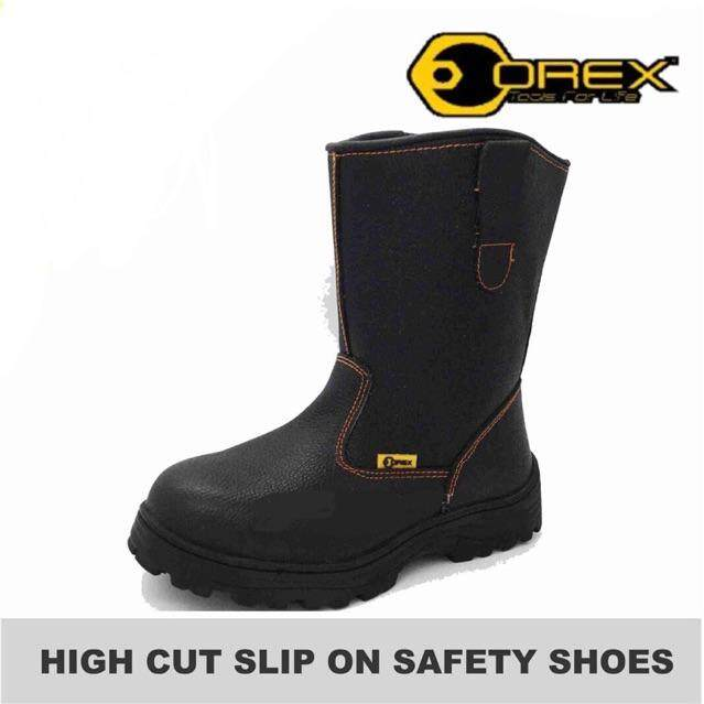 OREX HIGH CUT SLIP ON SAFETY SHOES 900#