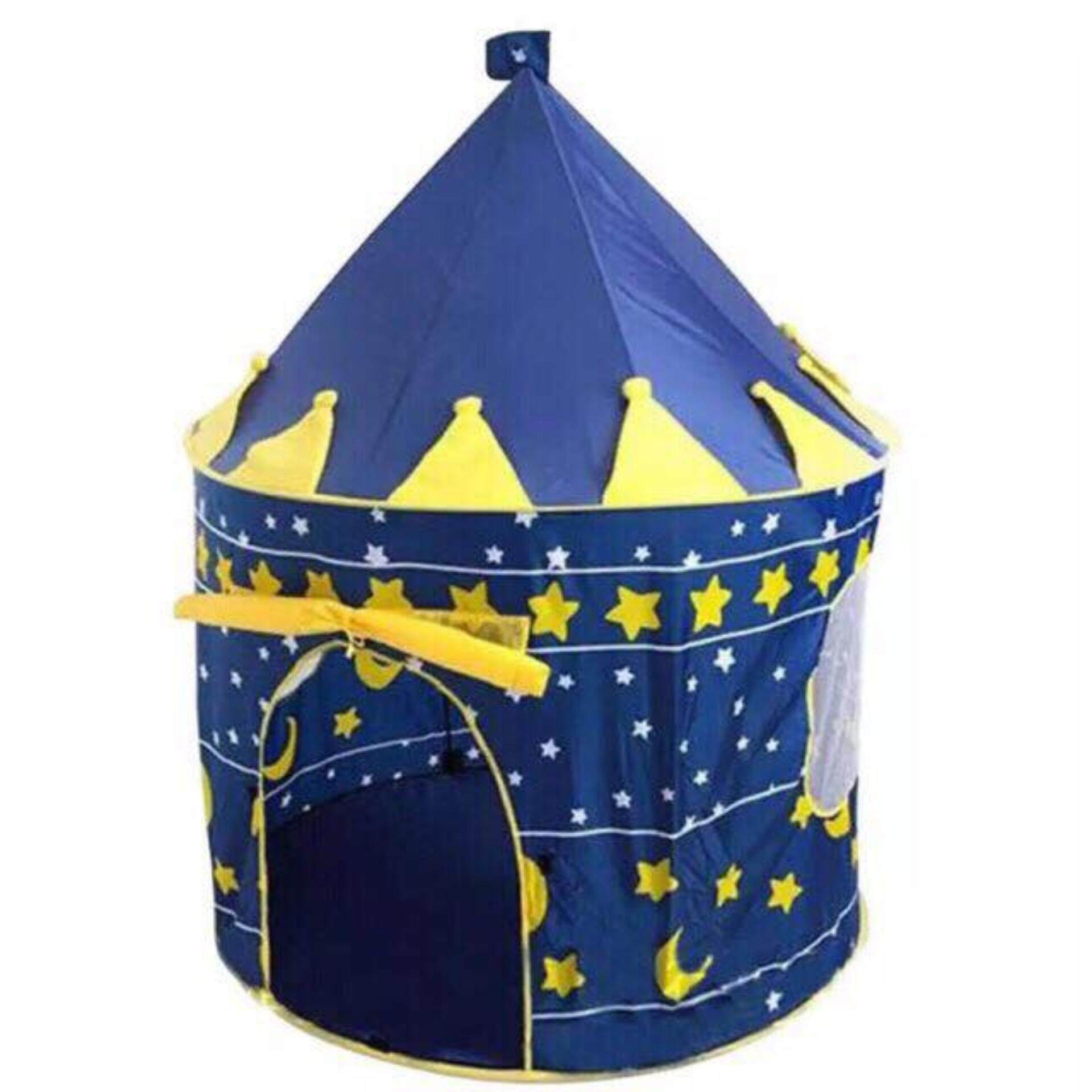 [ready Stock] Kids Play Portable Folding Large Castle Tent By Sse Concept.