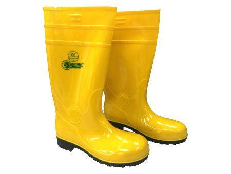 OREX  YBS YELLOW SAFETY RAIN BOOTS WITH STEEL TOE CAP AND STEEL SOLE ( 40#--44# )