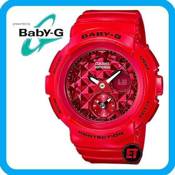 1ab4df69b504 (2 YEARS WARRANTY) CASIO ORIGINAL BABY-G BGA-195M-4A ANALOG