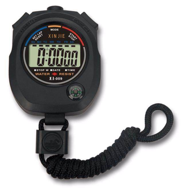 Tailored Waterproof Digital LCD Stopwatch Chronograph Timer Counter Sports Alarm Malaysia