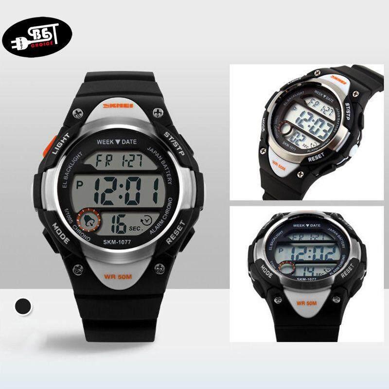 YBC Children Digital Watches Sports Cartoon Watch Waterproof Child Digital LED Wristwatches Malaysia