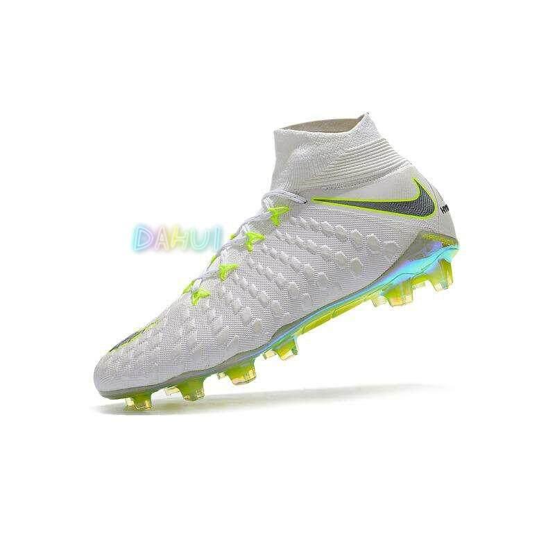 b18de4aea High Ankle Football Boots Hypervenom Flare Football Shoes Adulto Men s Soccer  Shoes Original Futebol Training Sneakers