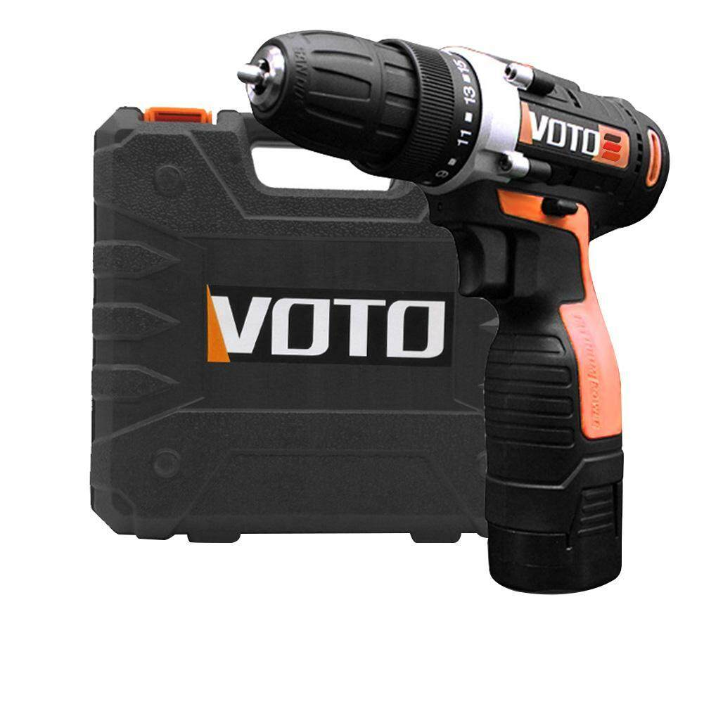 【companionship】VOTO VT202 16.8V 2-Speed Rechargeable Cordless Electric Screwdriver Drill with Lithium