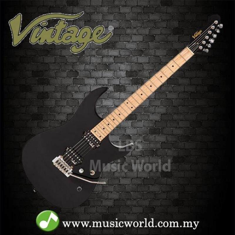 VINTAGE V6M24 REISSUED ELECTRIC GUITAR BOULEVARD BLACK Malaysia