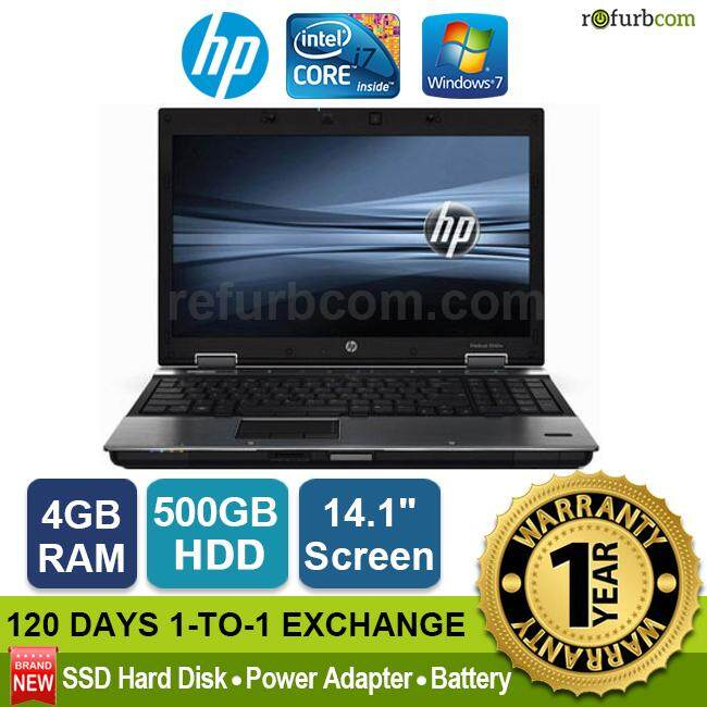 HP ELITEBOOK 8440P / INTEL CORE I7 1ST GEN (500GB SATA HDD) Malaysia