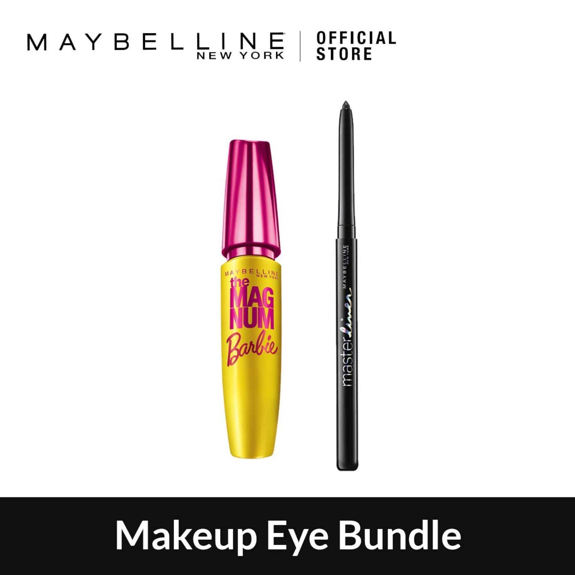 Maybelline Eyes Makeup Mascaras Price In Malaysia Best Barbie Mascara The Magnum Volum Express Waterproof Bold Eye Bundle