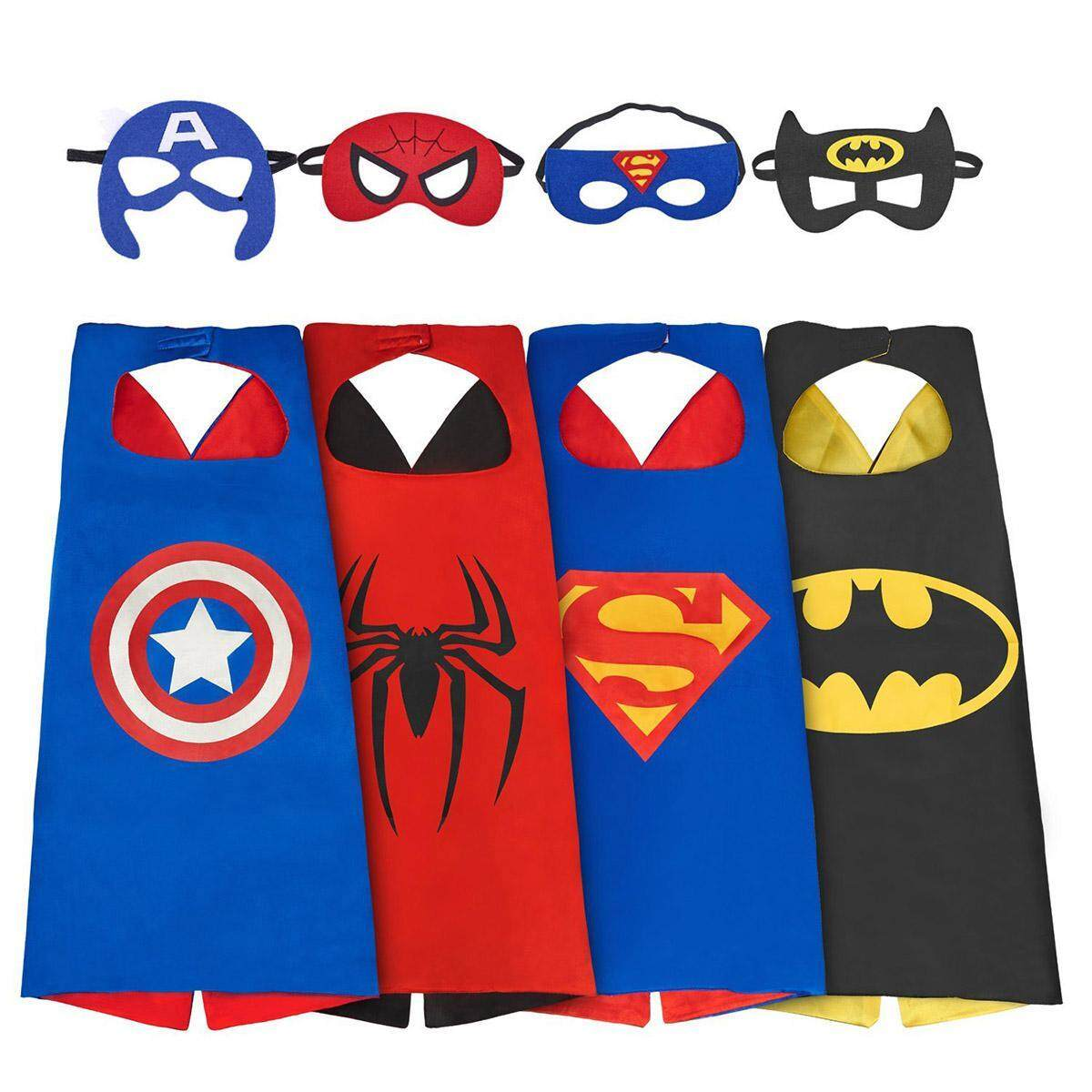 Character Costumes For The Best Prices In Malaysia Pj Mask Topeng Masks Kobwa Superhero Costume Cos Play Boys 4 Sets Dress Up
