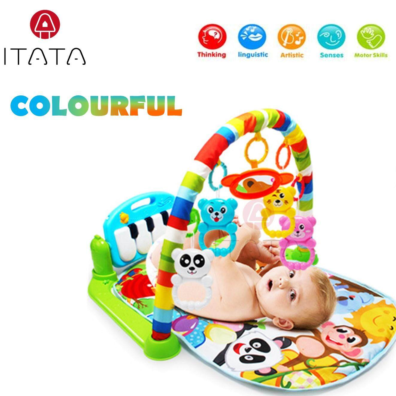 Toys Games Activity Gym Playmats Buy Farm Music Playmat Baby Toddler Colourful Musical Play Mat