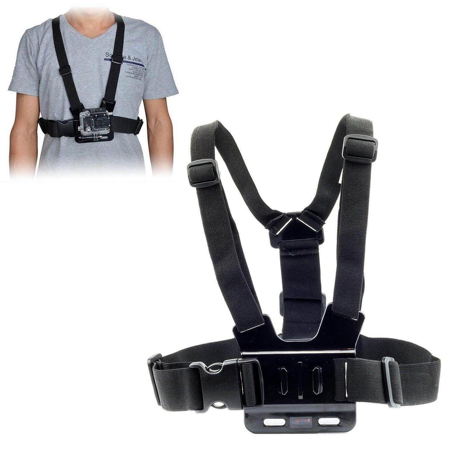 Chest Strap For Gopro Hd Hero 6 5 4 3+ 3 2 1 Action Camera Harness Mount By Tobbehere.