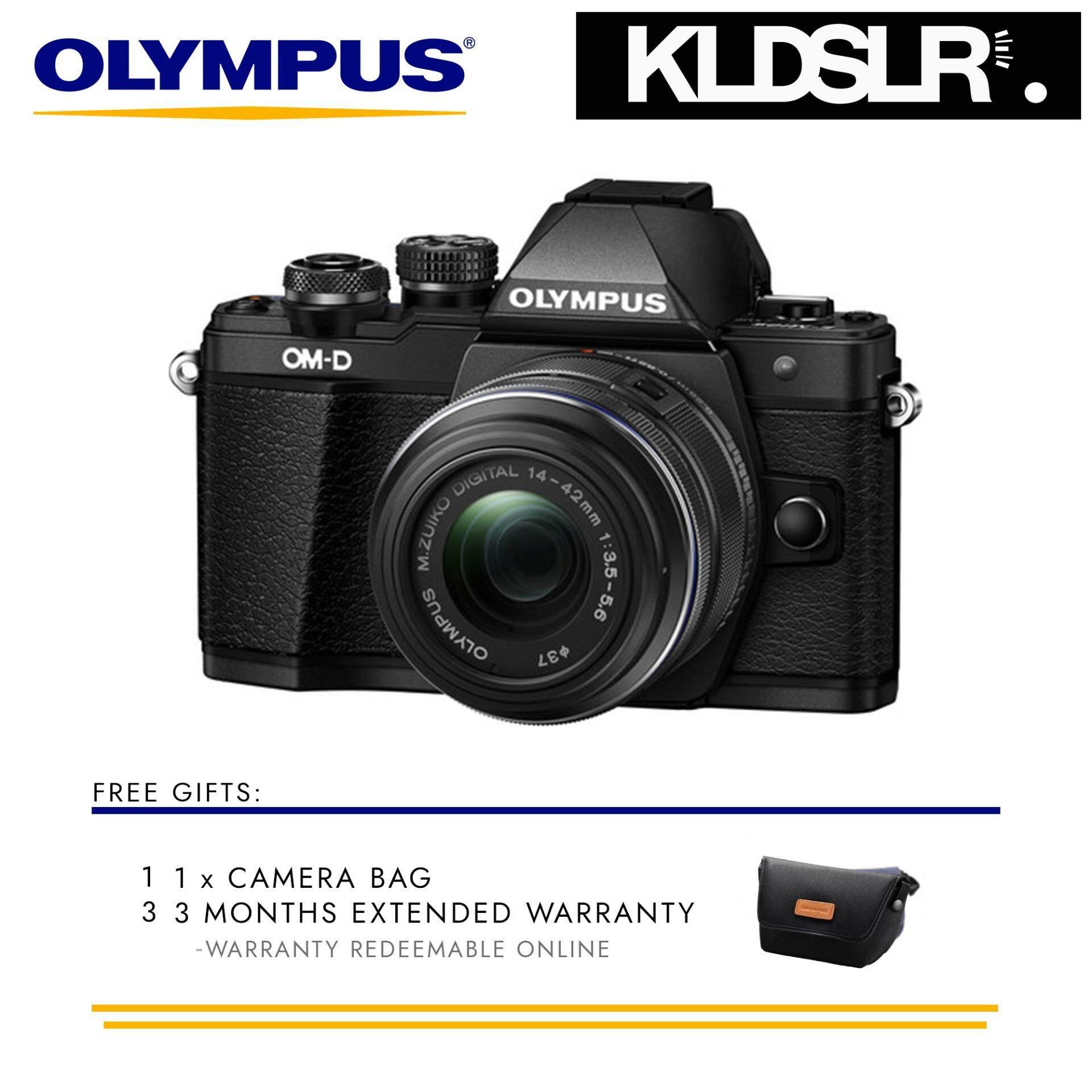 Olympus OM D E M10 Mark II Mirrorless Micro Four Thirds Digital Camera with