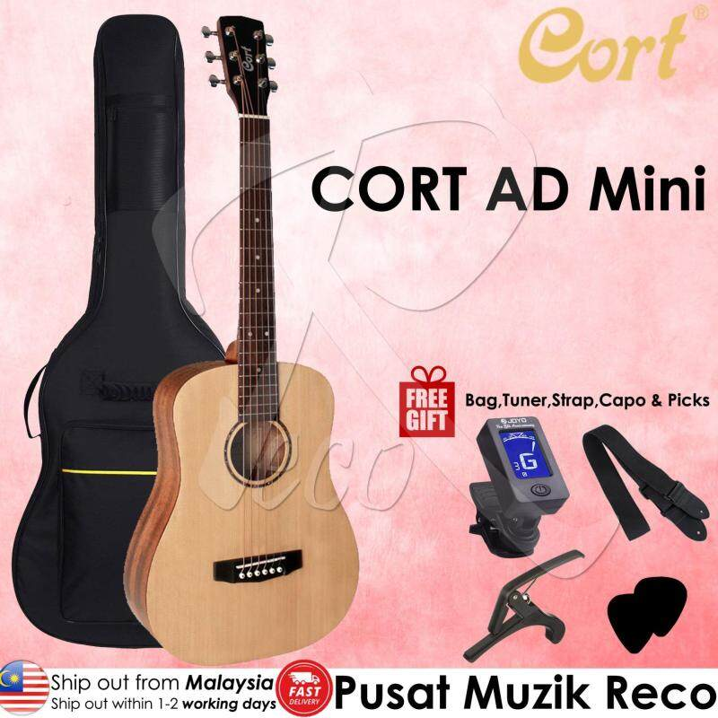 Cort AD Mini  ¾ Size Travel Size Acoustic Guitar Junior Acoustic Guitar Malaysia