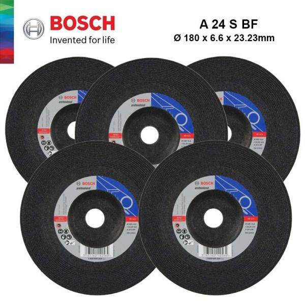 BOSCH 1pcs 7 Grinding Disc For Metal Grinding (180mm x 6.6mm x 22.23mm) - 2608600264 - 3165140142564