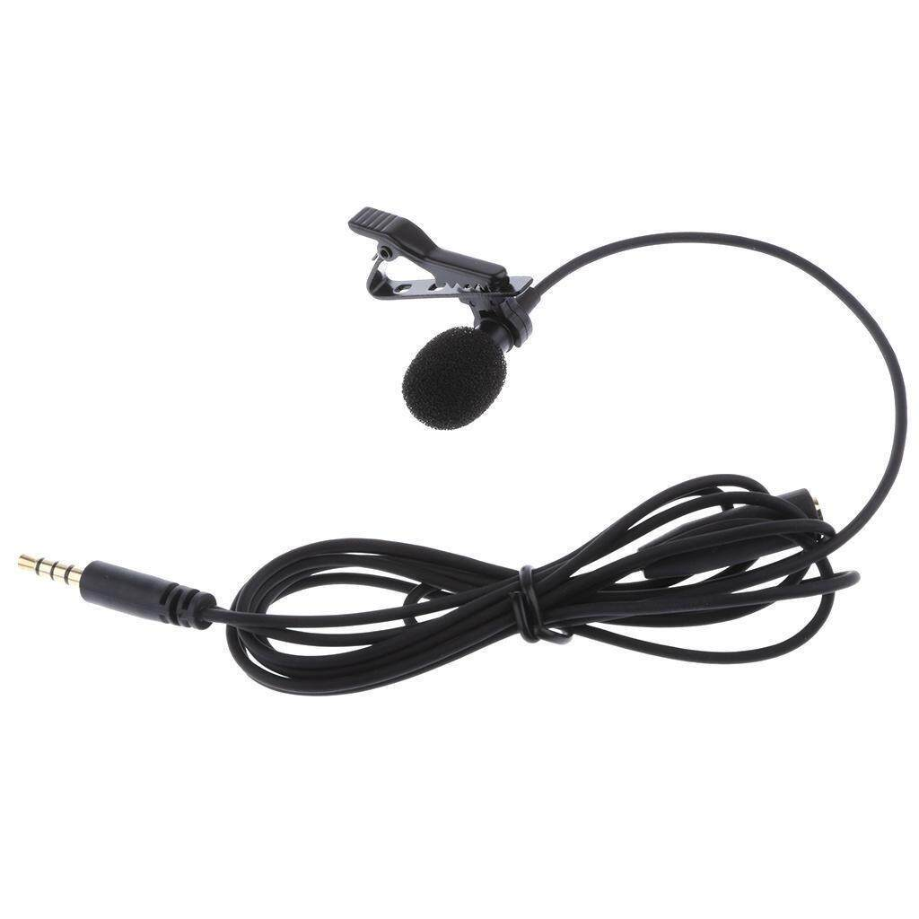 *ready Stock* 3.5mm High Sensitive 1.5m Tie Clip On Lapel Lavalier Mic Microphone By Araiso.