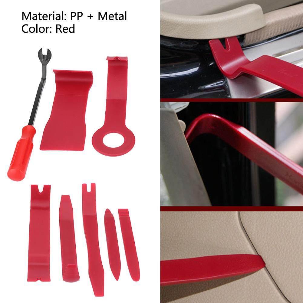 8pcs Car Interior Radio Audio Stereo Door Panel Clip Trim Dashboard Removal  Opening Tool Kit
