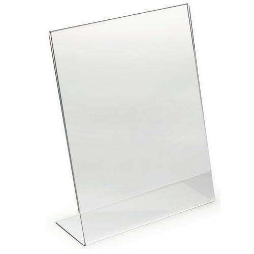 Acrylic Display Stand A4 Paper Holder A001p (5units) By Signature Valley.