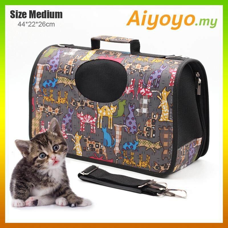 b63aa9411d M-Size Oxford Pet Carrier Bag Carry Cat Kitten Dog Puppy Pets Carriers  Purses Beds