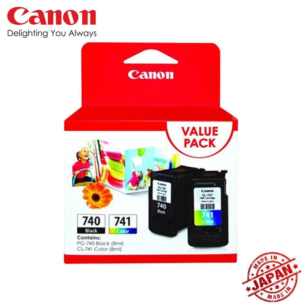 Canon Printers Accessories Price In Malaysia Best Print Head G1000 G2000 G3000 Color Original Pg 740 Cl 741 Ink Cartridge Black Value