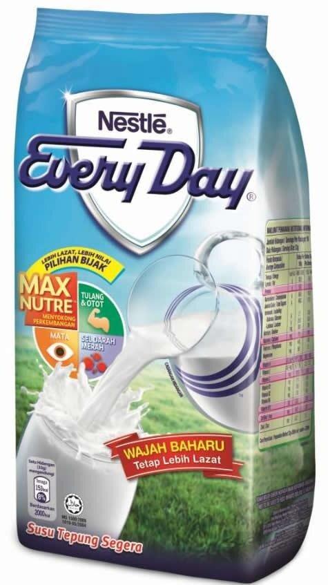 Nestle EveryDay Milk Powder (300g/500g/1kg/1.6kg)