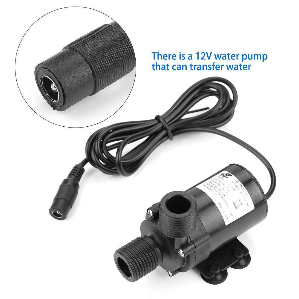 【Made in Italy 】Mini DC Brushless Water Pump for Solar Water Heater 12V -40℃ ~100℃