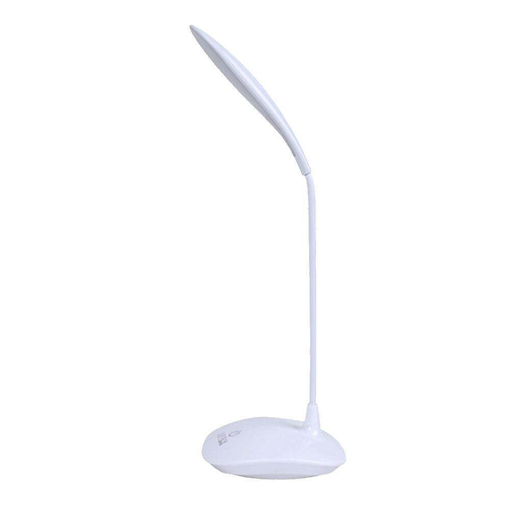 Led Desk Lamp, Leegoal Touch Control Dimmable Table Lamp Battery Operated, 3 Level Brightness Lamp With Usb Port, Compact Portable Eye-Caring Desk Lamp For Bedroom/ Study /office By Ltplaza.