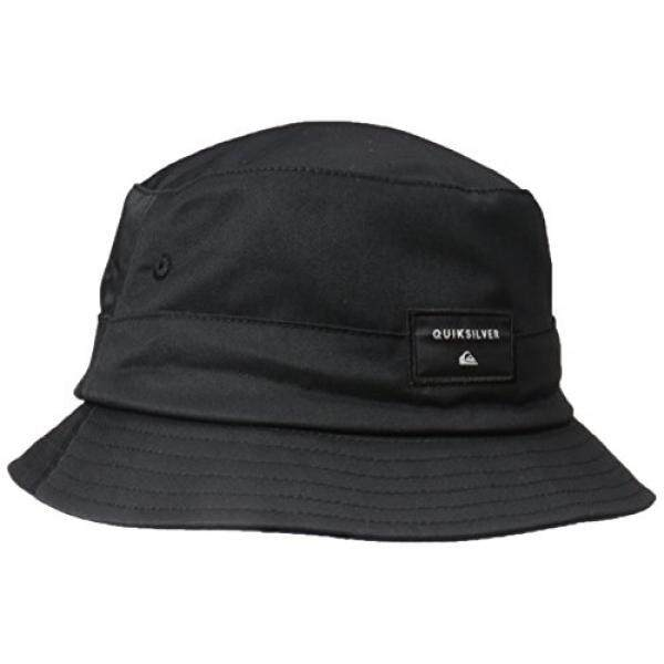 Quiksilver Mens Stuckit Bucket Hat Black