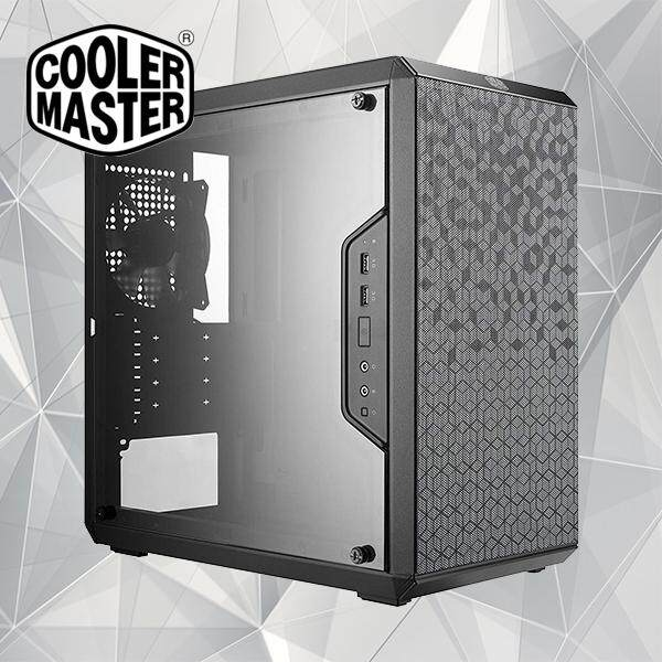 Cooler Master MasterBox Q300L Micro-ATX Qube Gaming Case with Adjustable IO Pane Malaysia