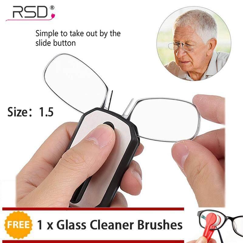 850de7d486  Buy 1 Get 1 Free Gift Rongshida +1.5 Keychain Mini Nose Clip Reading
