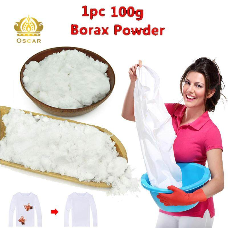 Oscar Store Borax Powder Sodium Tetraborate Anhydrous Borax Laundry Home Cleaning Tool White By Oscar Store.