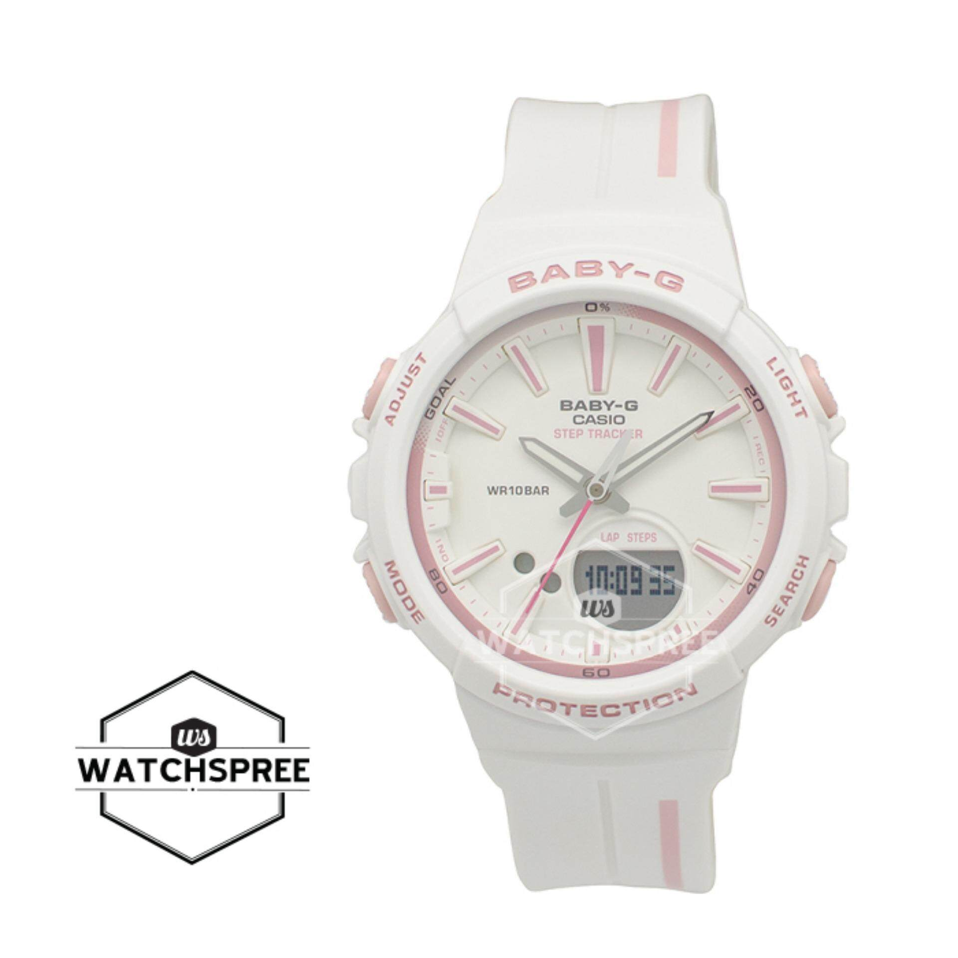 Casio Baby G Watches Price In Malaysia Best Ba 110tx 4a Original Punto It Design Bgs 100 Step Tracker For Running Series White