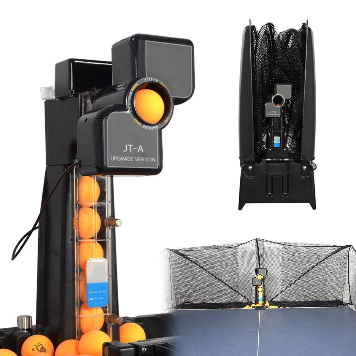 Table Tennis Robot Automatic Ping-Pong Ball Machine Practice Recycle W/ 100 Ball By Audew.