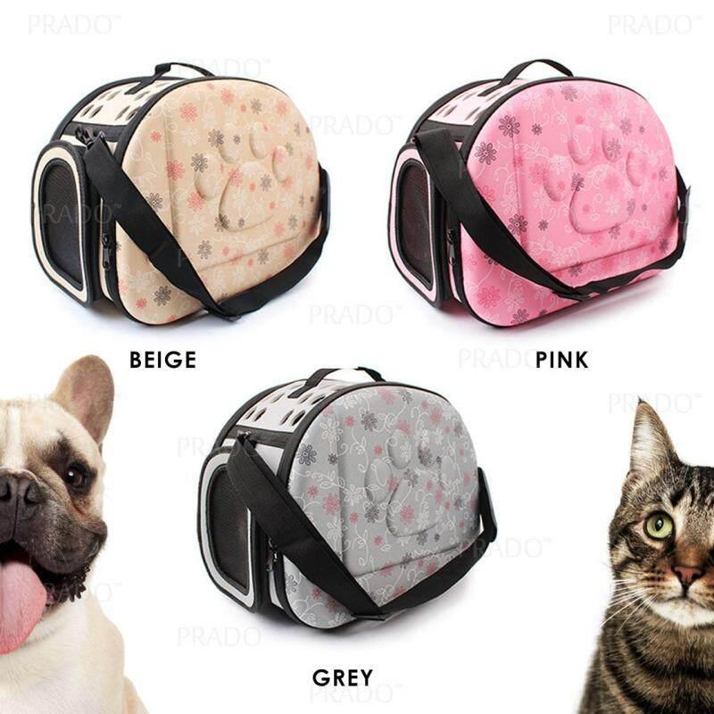 6d1e52f7d3 PRADO Malaysia Comfy Hard Case Pet Carrier Foldable Dog Cat Puppy ...