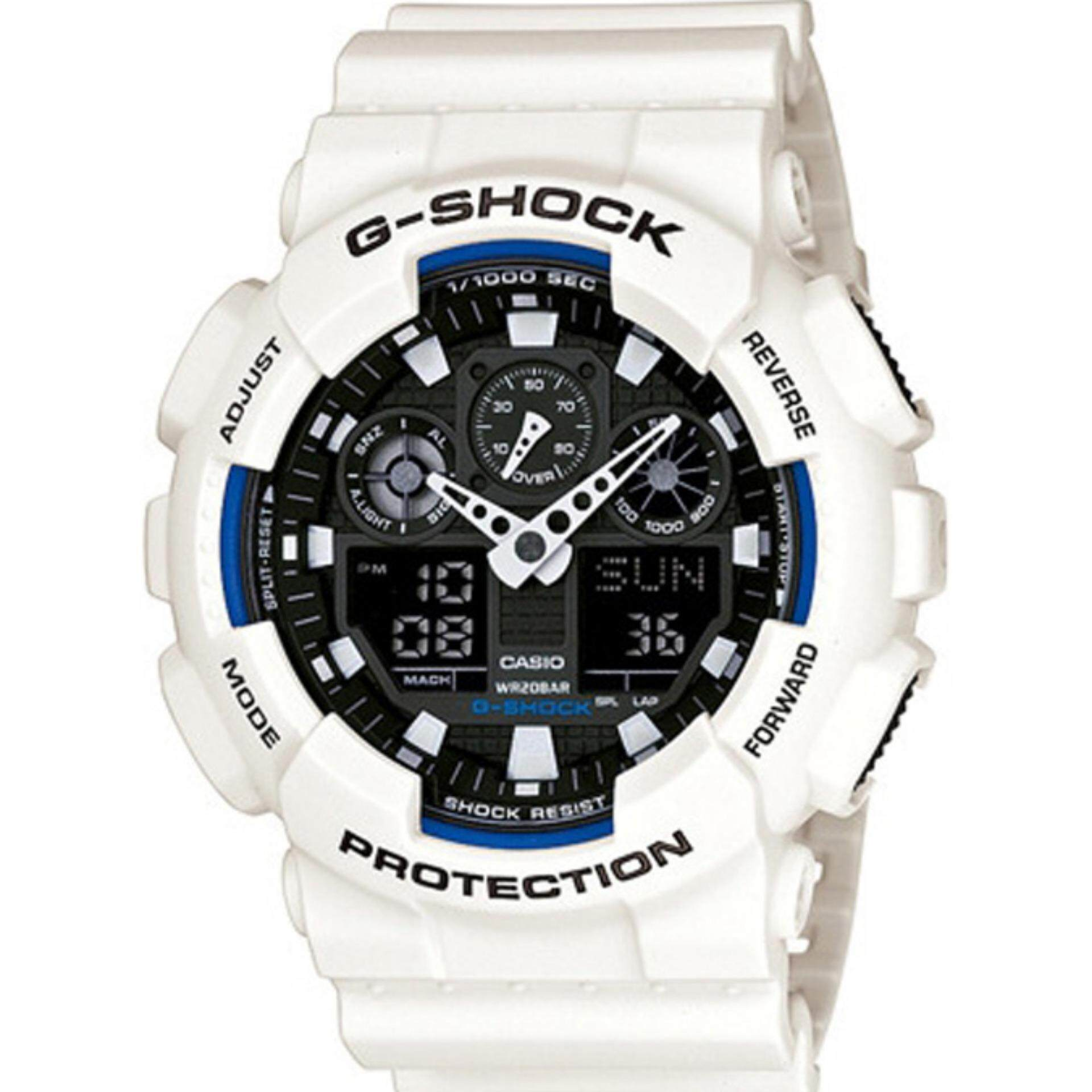 Shop Original Casio G Shock Mens Watches On Lazada My Jam Tangan Pria Sporty Ga 400 1bdr Whie Resin Strap Watch 100b 7a