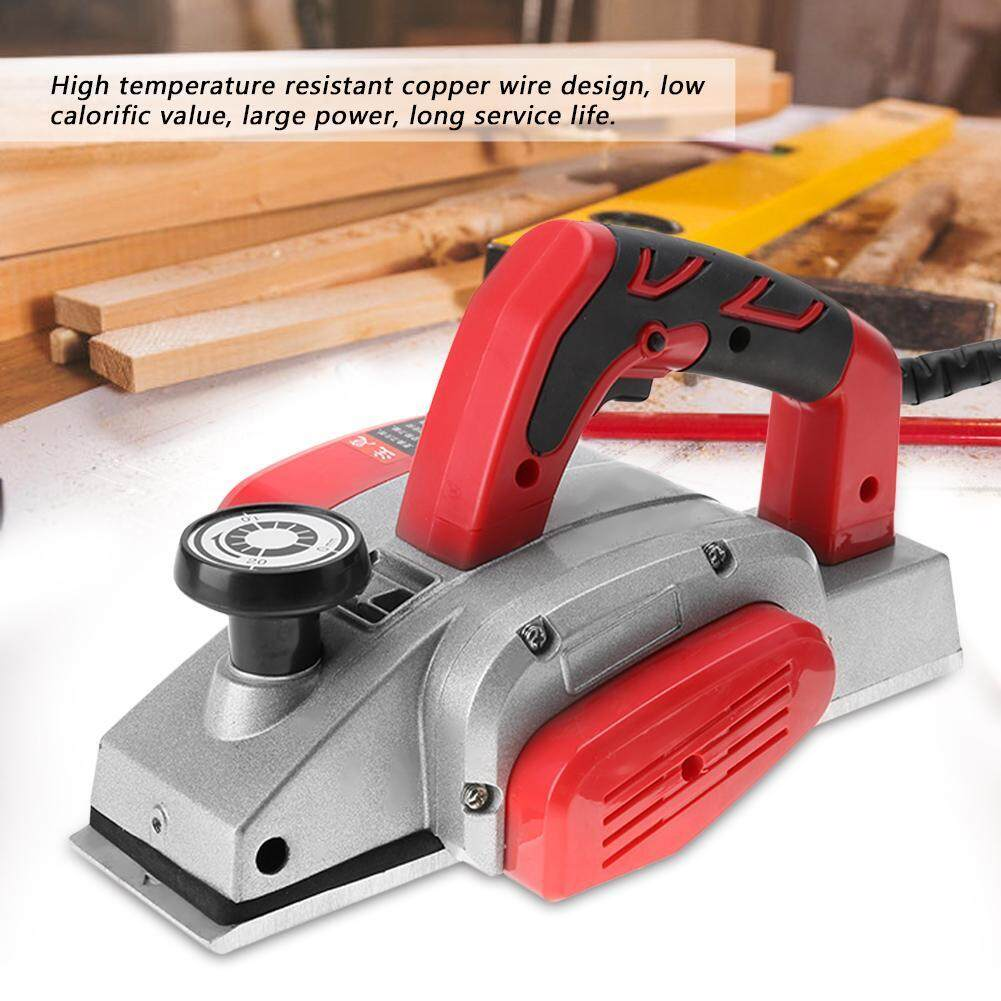 Multifunctional HandHeld Copper Wire Wood Electric Planer Woodworking Tool EU Plug 220V
