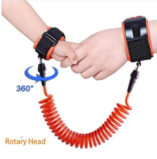 360 Degree Anti Lost Wrist Link Toddler Leash Safety Harness for Baby Strap Rope Outdoor Walking