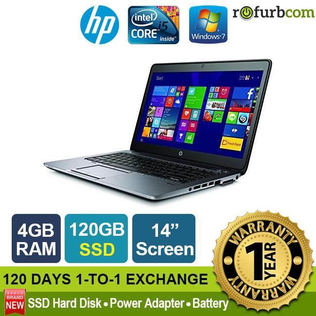 HP ELITEBOOK 840 G2 / INTEL CORE I5 1ST GEN (4GB, 120SSD) [refurbished] Malaysia