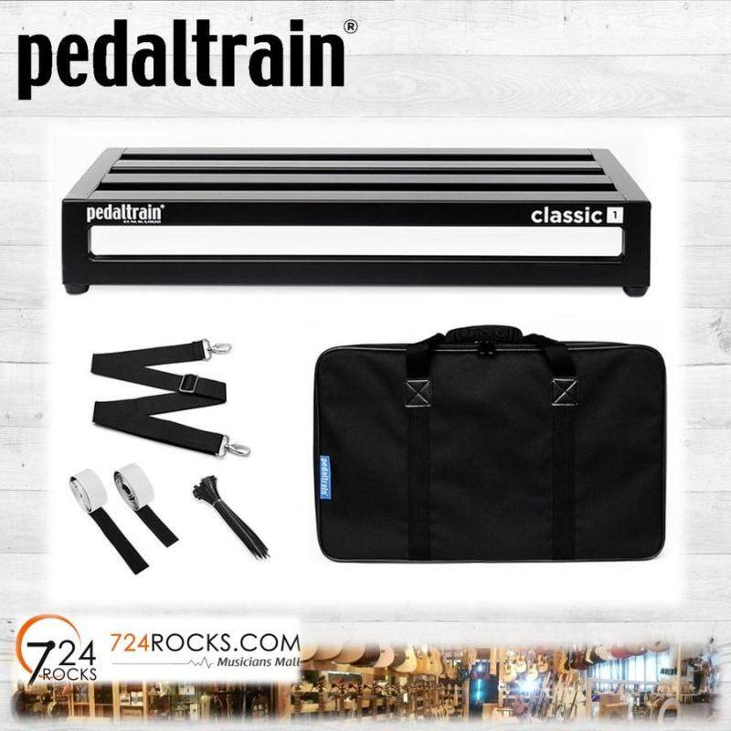 Pedaltrain Classic 1 Pedal Board For Effect Pedal with Soft Case (Classic1) Malaysia